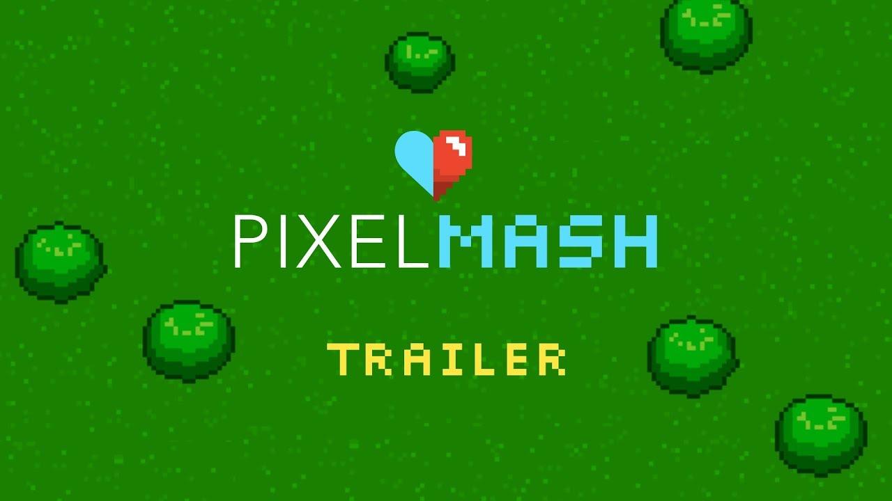 Pixelmash - Resolution-Independent Pixel Art Software for PC