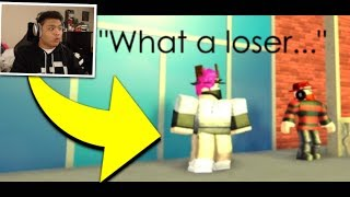REACTING to ROBLOX BULLY STORY - Alone (Marshmello) by Cryptize
