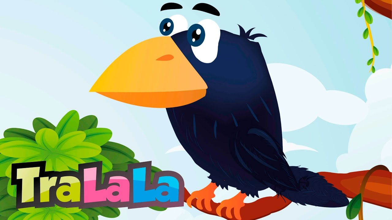 Cioara și vulpea - Cântece pentru copii   TraLaLa