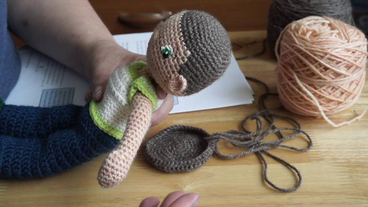 How to Crochet Dolls Hair (easy) (FREE Crochet Patterns) | Crochet ... | 720x1280