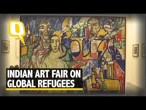 Artists Inspired by Refugees and Children Of War | The Quint