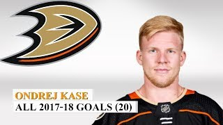 Ondrej Kase #25 All 20 Goals Of The 2017-18 Nhl Season