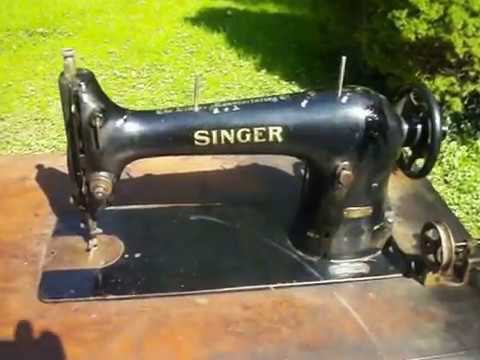 Singer Model 4040 Industrial Sewing Machine Treadle Works Well Beauteous Industrial Singer Sewing Machine For Sale