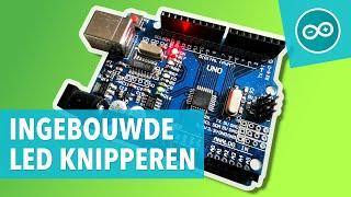 #1 Laat het ingebouwde Arduino LED knipperen