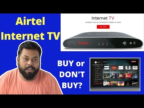 Airtel Brings Android Digital TV Set Top Box To FIght Jio's IPTV Internet Set Top Box