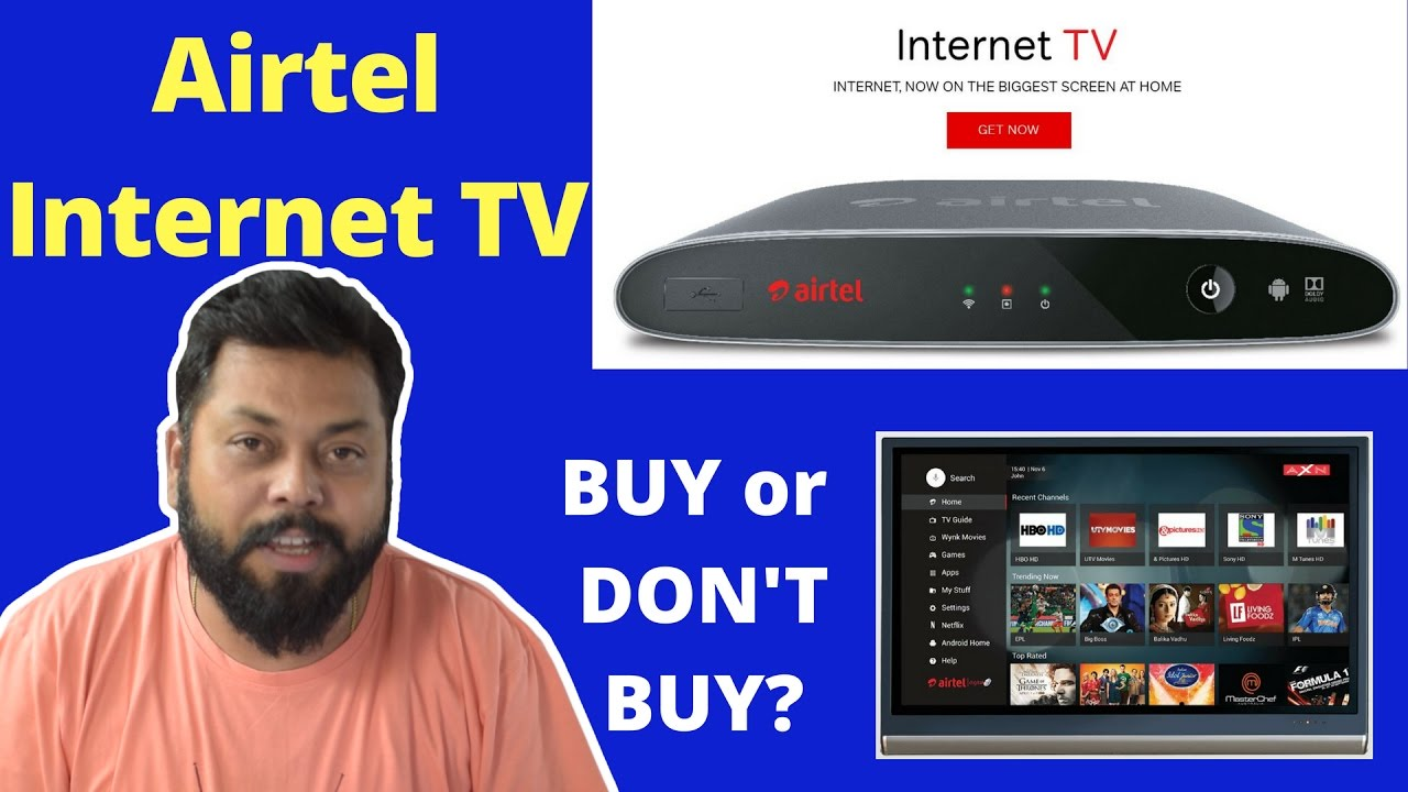 airtel brings android digital tv set top box to fight jio 39 s iptv internet set top box youtube. Black Bedroom Furniture Sets. Home Design Ideas