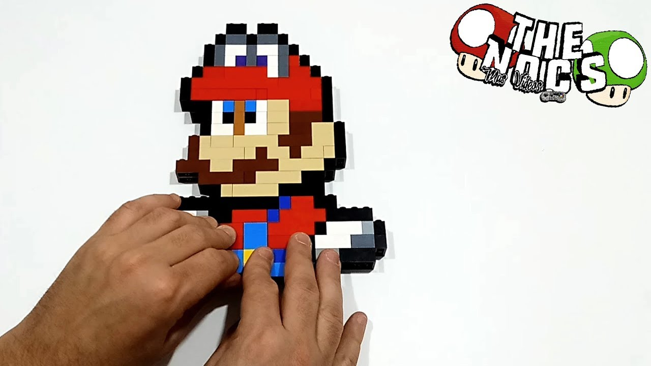 Handmade Pixel Art How To Build Lego Super Mario Odyssey Thenocs