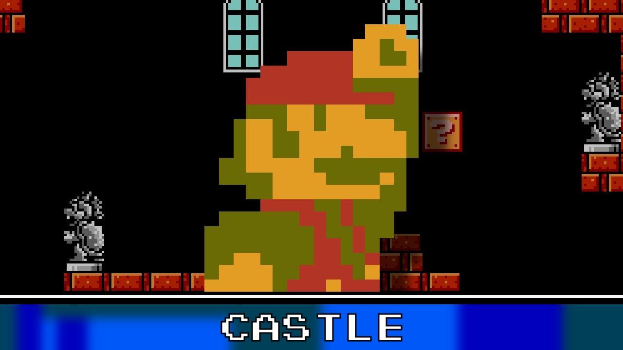 New Super Mario Bros Castle Theme 8 Bit Youtube