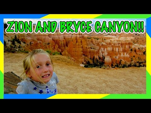 ZION AND BRYCE CANYON NATIONAL PARKS IN ONE DAY!