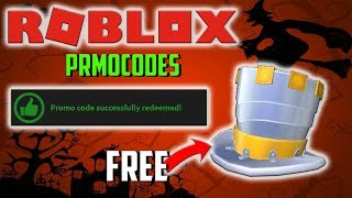 HOW TO GET FULL METAL TOP HAT FOR FREE | ROBLOX PROMOCODES 2018 | HALLOWEEN SPECIAL