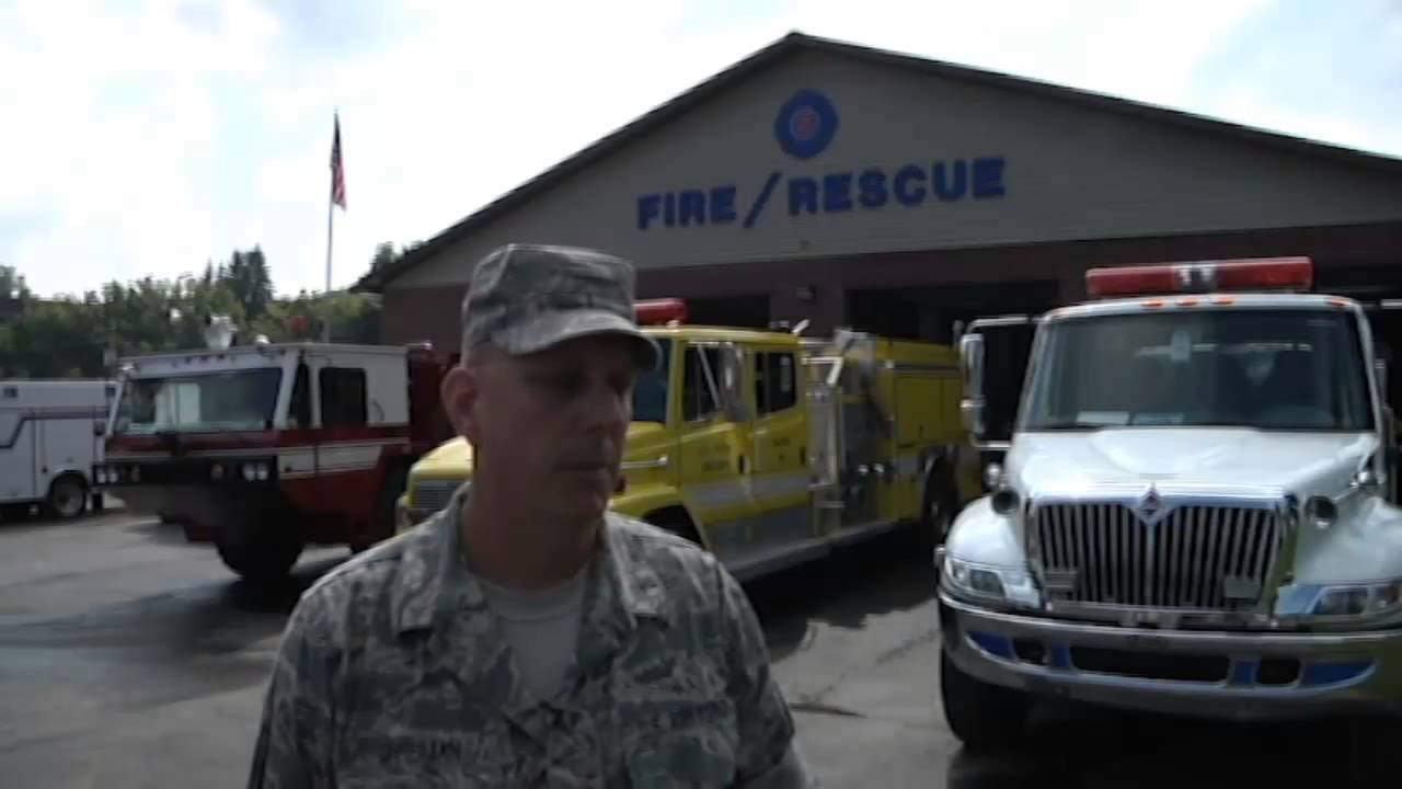 National Guard and Mount Hope Firefighters Support 2013 National ...