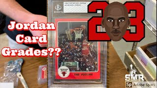 Michael Jordan Cards Return from Beckett. What grades did we get?