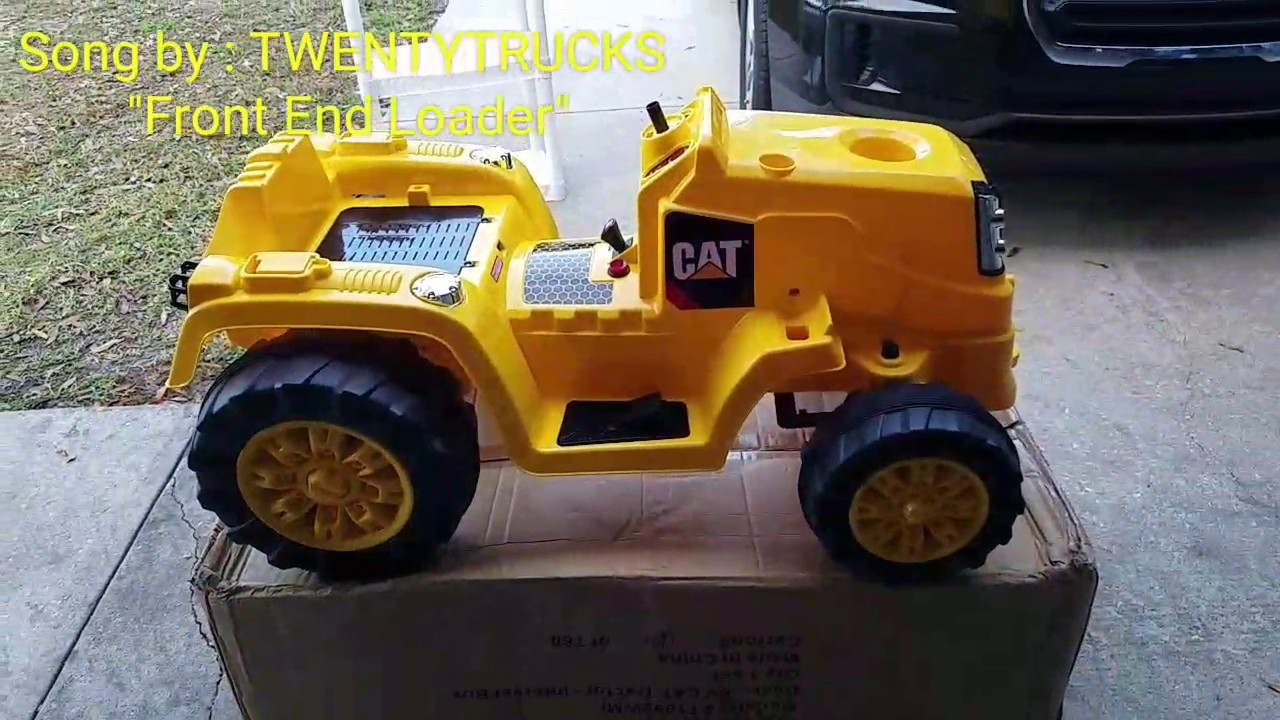 kid trax 6v cat tractor assembly