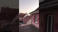 À Bischwiller Alsace, l'Appel à la Prière résonne dans toute la ville depuis le Minaret 06/04/2020