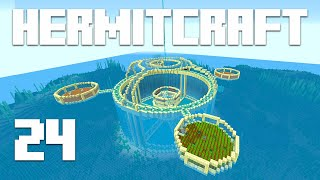Hermitcraft 7 - Ep. 24: EPIC MEGA BASE ADDITION! (Minecraft 1.15.2) | iJevin