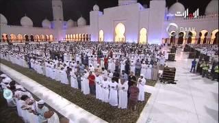 أخشع وأجمل دعاء للشيخ إدريس أبكر ( بكى وأبكى)  ليلة 27 رمضان 1436 من جامع الشيخ زايد أبوظبي