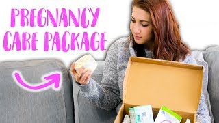 Cute Pregnancy Care Package - PO Box Mail Opening!