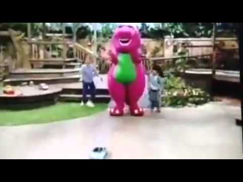 Barney Comes To Life How Does Your Garden Grow Youtube