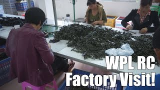Visiting WPL RC Factory - Part 1/2 Vlog - So this is how WPL is made!?!?