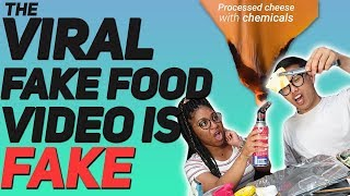 The Viral Fake Food Video Is Fake And Here Is Why