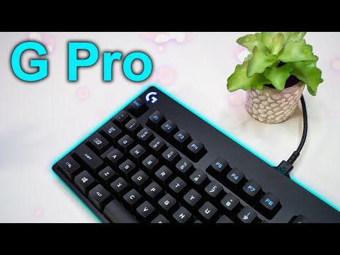 Logitech G Pro Gaming Keyboard Review and Sound Test