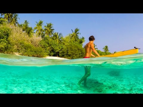 Travel Maldives | Tropical Beach & Cristal Clear Water