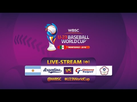 Argentina v Chinese Taipei - U-23 Baseball World Cup 2016 - Gm 2