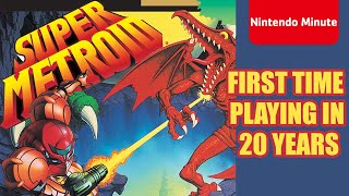 Super Metroid – Getting Ready for Metroid Dread