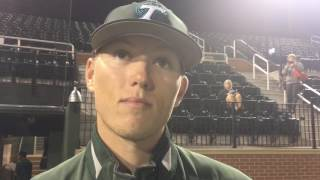 Chase Solesky loved the early run support in his first win of the season
