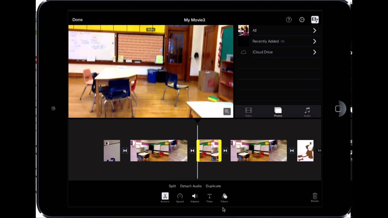 Editing, Moving, and Deleting Clips in iMovie for iPad ...