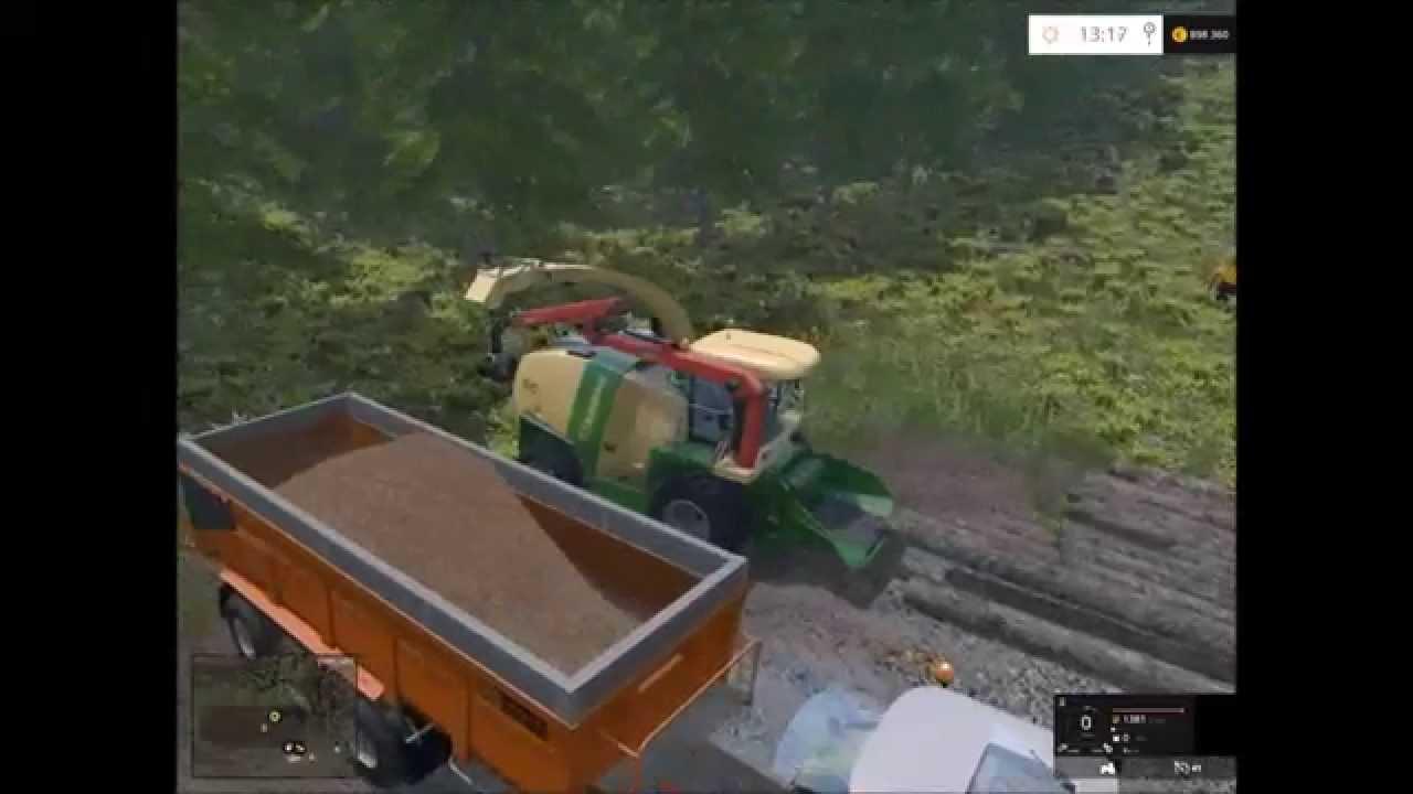 Farming simulator 2015 broyage de bois HD YouTube # Isolation Copeaux De Bois