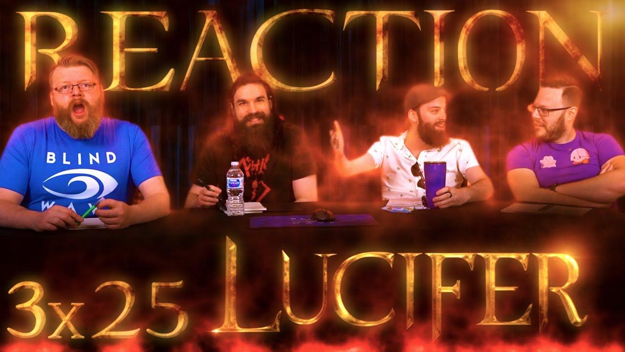 "Lucifer 3x25 REACTION!! ""Boo Normal"""