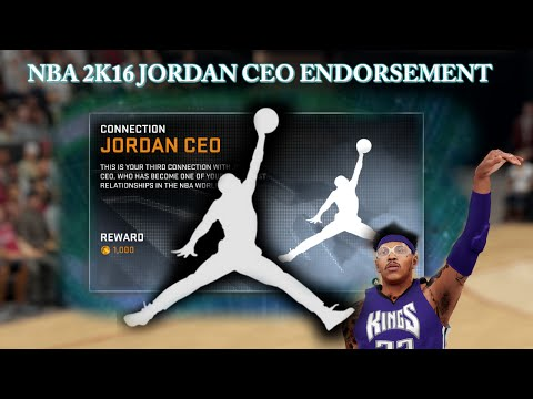 NBA 2K16: JORDAN CEO CONNECTION