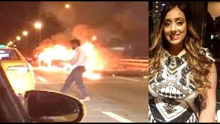 NY Man Leaves Date To Burn Alive In Wrecked Car!