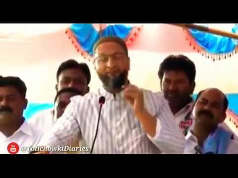 AsadUddin Owaisi : Allah Ne Subhe Qayamat Tak Tipu Sultan Ka Naam Zinda Aur Abad Aur Shadab Rakhe Ga