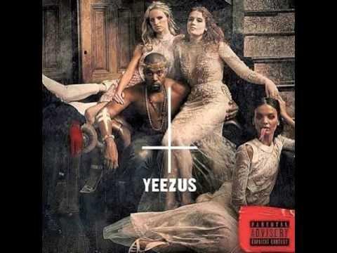 kanye west illuminati satanic. Yeezus album cover