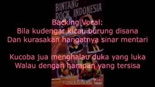 Gambar cover 6 Bintang Rock-Kuserahkan Lirik