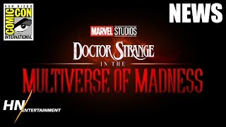 Doctor Strange 2: Multiverse of Madness REVEALED with Scarlet Witch | SDCC 2019