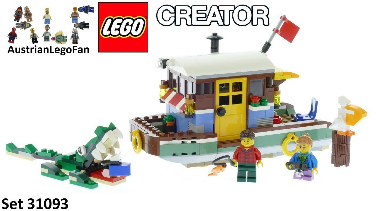 31093 LEGO Riverside Houseboat Set