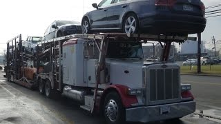 American Car Hauler - Trucks In USA - Country Music Compilation