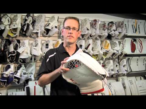How To Shape A Hockey Goalie Trapper | Source For Sports