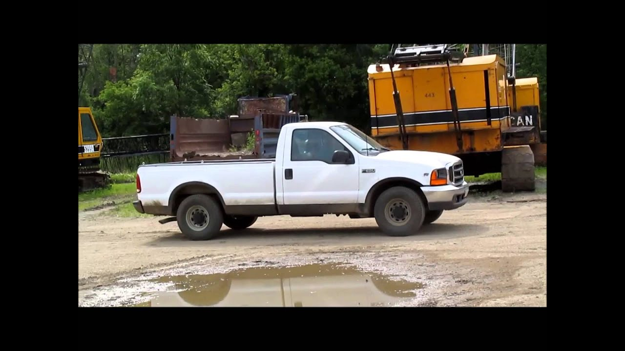 2000 Ford F250 Super Duty Xl Pickup Truck For Sale Sold At Auction July 29 2015