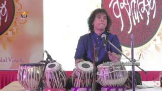 LIVE: Ustad Zakir Hussain - NON STOP Tabla A Very Nice Performance !!!