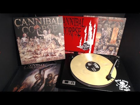 """Cannibal Corpse """"Gore Obsessed"""" and """"Hammer Smashed Face"""" LP Stream"""