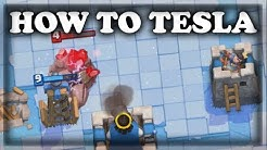How to Use Tesla   Clash Royale 🍊
