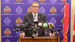 Hamilton police announce arrest in two homicides