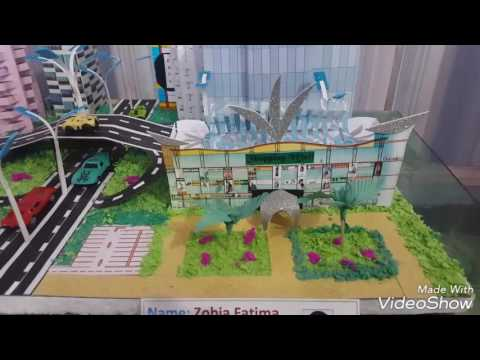 Model - Modern City and Road Transport