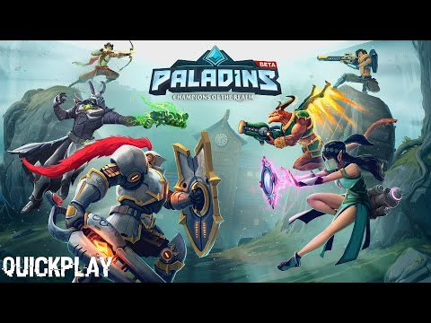 Quickplay | Paladins Xbox One Closed Alpha!