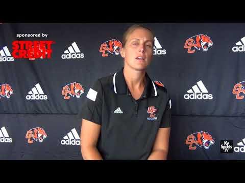 Coach Leah Cruz Castleman on Georgetown College Women's Soccer 2017