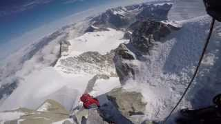 Mont Blanc du Tacul 4,248m summit climb & technical descend GoPro HD